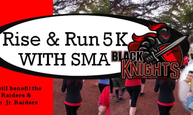 Raiders Rise & Run 5K- March 27, 2021
