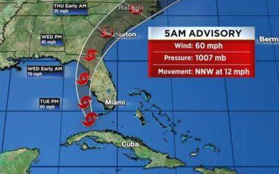 Tropical Storm Elsa Cancels Summer Beach Run | July 6, 2021
