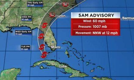 Tropical Storm Elsa Cancels Summer Beach Run   July 6, 2021