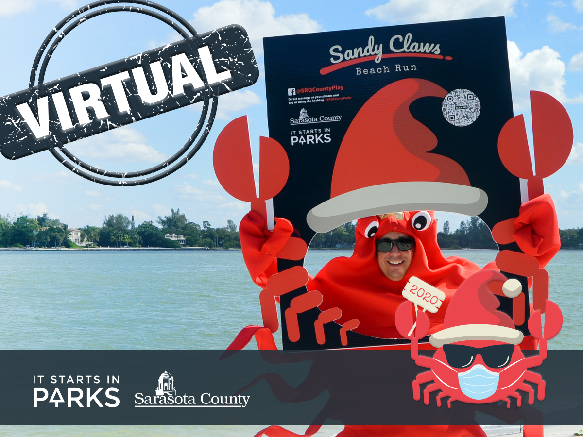 Sandy Claws Beach Run- Virtual